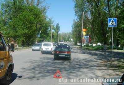 Расследование наезда на пешехода